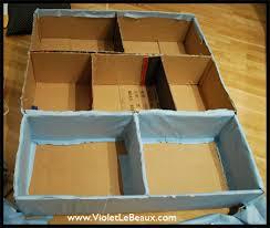 diy cardboard furniture. Box Furniture Tutorials Diy Cardboard C