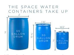 55 Gallon Drum Inches To Gallons Chart The 16 Best Water Storage Containers For Emergencies In 2019