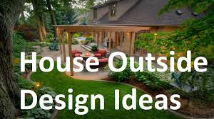 Small Picture House Outside Design Ideas YouTube