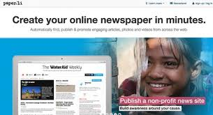 Paper li Lets You Write Your Own Newspaper   Social Media Sun I set out to find out more about Paper li  including the people who run it  and what inspired them  SmallRivers is the formal name of the company that
