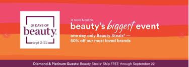 Ulta 21 Days of Beauty Fall 2018 Starts in September   Deals Too ...