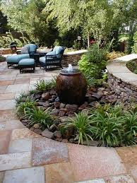 Small Picture Chic Water Features For Small Yards Add Free Standing Water