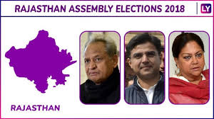 Mla List Rajasthan Assembly Elections 2018 Winners List Check Constituency