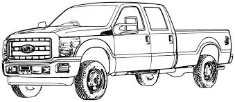 Ford Truck Coloring Pages Kleurplaten Kleurplaten Patronen Und