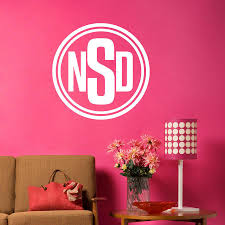 Custom Wall Letter Decals