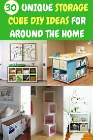 30 unique storage cube diy ideas for around the home diy storagecubes cubefurniture