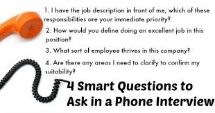 good questions to ask during a job interview prepare for phone interview questions