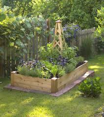 Small Picture Small Space Gardening Build a Tiny Raised Bed Midwest Living