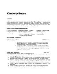 Skin Care Trainer Sample Resume