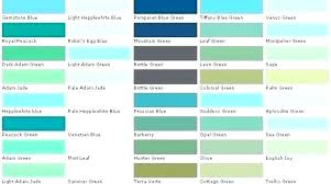 Green Paint Color Chart Teal Color Chart Moramora Info