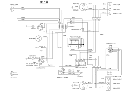 wiring diagram for massey ferguson 65 the wiring diagram really need some help mf 165 yesterday s tractors wiring diagram