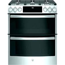 electric range double ovens best oven kitchen aid with 36 stove