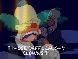 Image result for laughy daffy clowns
