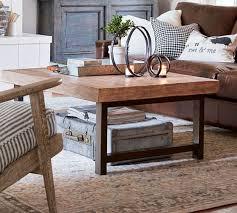 griffin reclaimed wood coffee table dusty safari