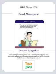 brand management objectives branding notes by arvind mallik issuu