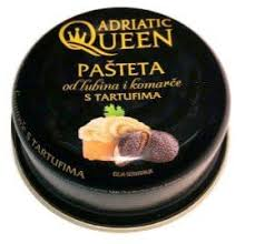 Adriatic Queen Sea Bass and Sea Bream Pate with Truffles, 3.35 oz ...