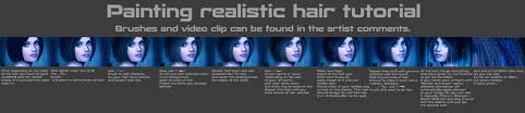 painting realistic hair tutorial by magicnaanavi painting realistic hair tutorial by magicnaanavi