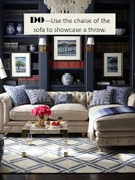 via the perfect pillow placement on a sectional