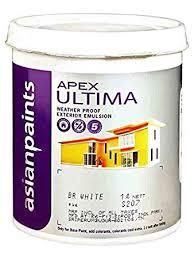 Fine Coat Paint Color Chart Asian Paint Apex Ultima 20 L White Amazon In Home