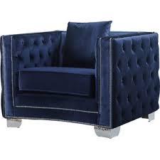 save blue velvet chair85