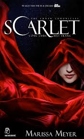 vietnamese cover of scarlet by marissa meyer