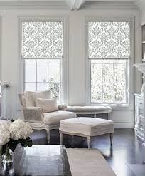 Designer Kitchen Blinds Awesome 48 Shades Of Damask Classic Patterned Custom Made Printed DMwindow