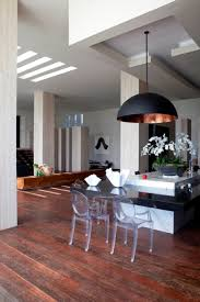 oversized lamp over the kitchen island