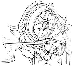 2008 honda odyssey belt tensioner vehiclepad 2008 honda repair guides engine mechanical timing belt and sprockets