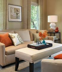 Bench Cushion Sofa Living Room Transitional with Gourd Lamp Modern Sofa