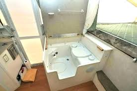 toilet shower combo for camper sho sink bathroom and photo 9 of small toilets pop rv