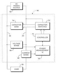 patent us7002321 automatic power factor correction using power how to connect capacitor bank to improve power factor at Power Factor Correction Capacitor Wiring Diagram