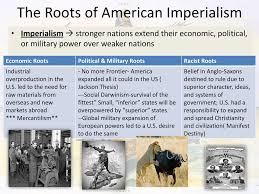 Reasons For American Imperialism Ppt Download