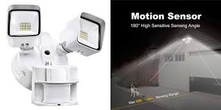 bbounder led motion sensor outdoor led security lights