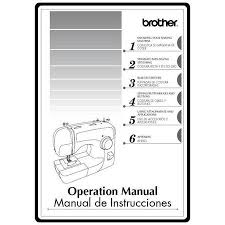 Xl2600i Brother Sewing Machine Manual