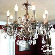 old chandelier crystal antique vintage chan