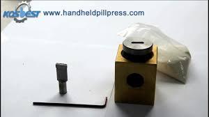 handheld pill press hand press for vitamin tablets