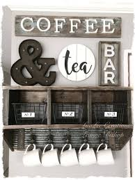 10 diy coffee and tea bar