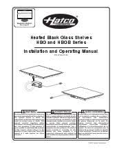 hatco hbgb 6018 heated black glass shelf at ckitchen com color chart pdf installation operation pdf