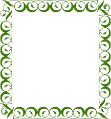 Download Lime Border Frame Transparent Background For