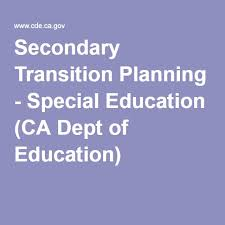 Iep Timeline Chart Illinois Secondary Transition Planning Special Education Ca Dept