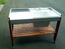 diy portable sink sink stunning outdoor station design full wallpaper photos diy portable sinks with hot