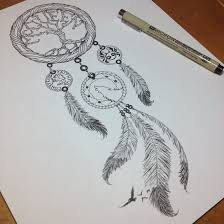Dream Catcher Tattoo Stencils Good dream catcher tattoo design 58