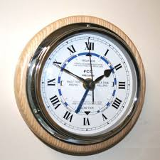 wall mount time and tide clock