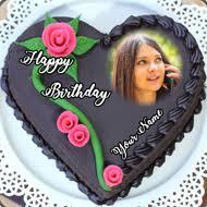 Name Photo On Birthday Cake Home Facebook