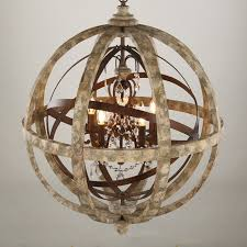 antique wood globe chandelier decorating with regard to idea 7