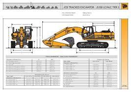Jcb Tracked Excavator Js220 Nc Sc Lc