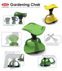 garden seat on wheels. California Designer Han S. Hong\u0027s Concept For An OXO Gardening Chair Is Designed Ease The Ups And Downs That Aging Gardeners Experience While Puttering In Garden Seat On Wheels A