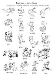Examples Of Action Verbs Tpt Pinterest Action Verbs Action