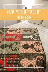 Big Game - Deer Quilt with Antlers | Custom quilts, Gift and Craft & Big Game - Deer Quilt with Antlers Adamdwight.com