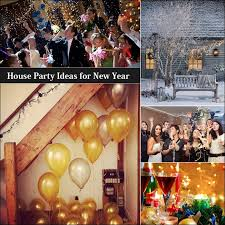 House Party Ideas for New Year's